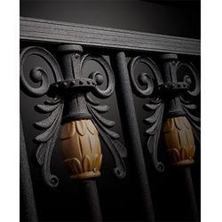 阳台护栏制作、河源阳台护栏、华雅铝艺回头客多图片