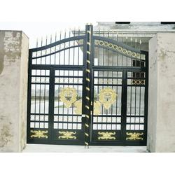 华雅铝艺高可靠性 小区大门设计-清远小区大门图片