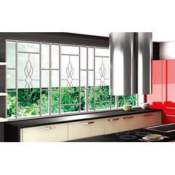 华雅铝艺大量现货、东莞室外窗花、室外窗花定制图片