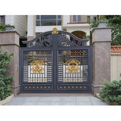 梅州庭院大门、华雅铝艺厂货直供、庭院大门设计图片