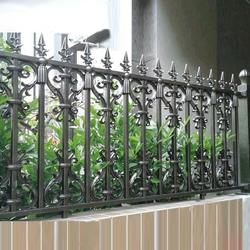 深圳小区围栏,华雅铝艺好货源,小区围栏定制图片