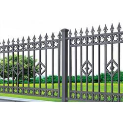 庭院围栏代理,江门庭院围栏,华雅铝艺性价比高图片