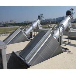 卧式筒型格栅机厂家|扬州卧式筒型格栅机|诸城泓泽环保(图)图片