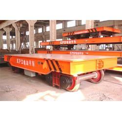 适应于仓储钢厂运输-40吨电动地平车-电动地平车图片