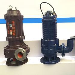 WQ污水泵、石保泵业、无堵塞WQ污水泵图片