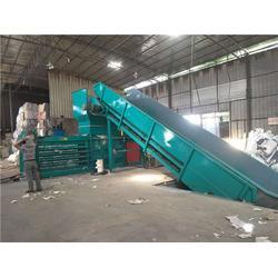 废纸打包机|泰达环保|小型全自动废纸打包机图片