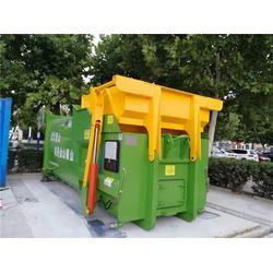 垃圾压缩 泰达环保 卧式垃圾压缩设备图片