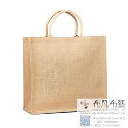 商家礼品用的麻布袋订做,厂家黄麻袋 外单棉布袋定制厂图片