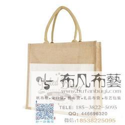 黄麻袋 束口麻布袋订做厂家 棉麻束口袋订做图片