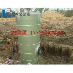 泵站,泸泉泵业,一体化泵站图片
