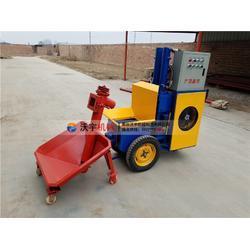 细石混凝土泵厂-广州新款二次构造柱泵-沃宇机械二次构造柱泵图片