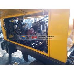 微信混凝土泵沃宇机械-合肥盖房混凝土输送泵图片