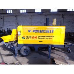 沃宇机械二次构造柱泵-农村混凝土输送泵联系方式图片