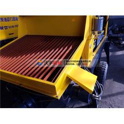 青海农村混凝土输送泵-沃宇机械二次构造柱泵图片