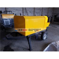农村盖房 沃宇机械-盖房混凝土输送泵单价图片