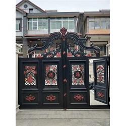 庭院大门、杭州庭院大门多少钱、【奉世门业】(多图)图片
