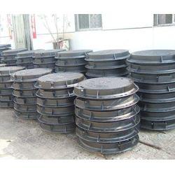 铸铁井盖,球墨铸铁井盖型号,济南小二马质量可靠(多图)图片