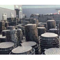 济南铸铁井盖,济南小二马%,不锈钢铸铁井盖厂家图片