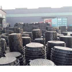 济南铸铁井盖,济南小二马放心选购,球磨铸铁井盖图片