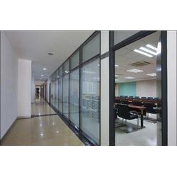 玻璃隔断,办公隔断,铝合金隔断图片