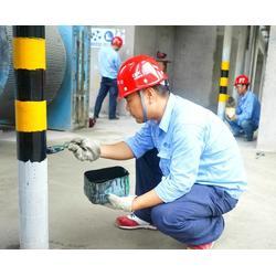 厂家汇胜化工道路隔离高反光立柱反光漆图片