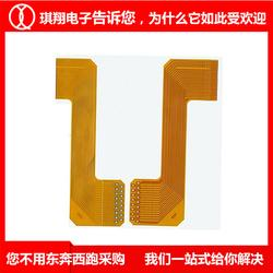 四层工控fpc柔性软板-琪翔电子柔性线路板厂图片