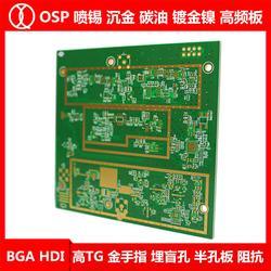 RJ45电路板_琪翔电子RJ45板厂_RJ45电路板图片