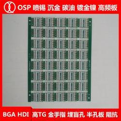 RJ 45 PCB电路板_PCB电路板_琪翔电子PCB订做图片