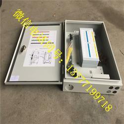 户外壁挂式1分32光分器箱铁箱 1分32路光分器分纤箱 FTTH光分箱图片