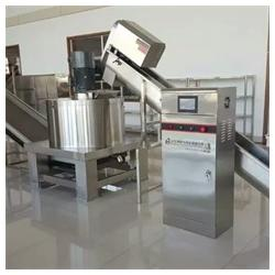 蔬菜离心脱水机生产-蔬菜离心脱水机-山东博泓机械设备生产图片