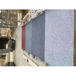 彩色透水地坪单价-彩色透水地坪-彩色压模地坪图片