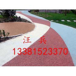 彩色压模地坪材料工厂价图片