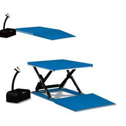 CZ型脚踏式升降平台车_升降平台车_欧誉工业设备有限公司图片