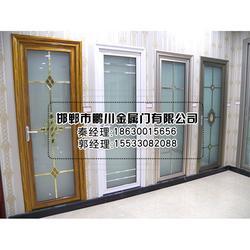 钢化玻璃平开门、安徽平开门、鹏川推拉门品质棒棒的(查看)图片