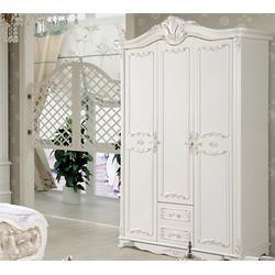 单门欧式衣柜、柏叶家具、欧式衣柜图片