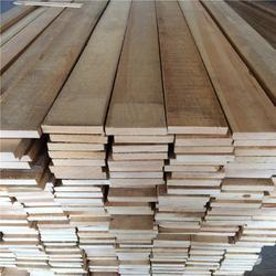 樟子松板材 无节材 实木家具板 排骨架图片