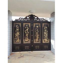 中式庭院门_东阳中式庭院门_真意护栏良心公司图片