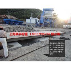 宁波20米地磅(抗压强)阜阳3*14米80吨电子地磅图片