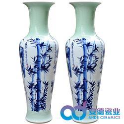 陶瓷落地大花瓶厂家价图片