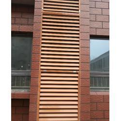 拼装好的锌钢百叶窗护栏厂家图片