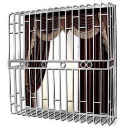 厂家直供优惠的锌钢防盗网防护窗图片