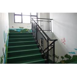 住宅楼梯扶手锌钢楼梯栏杆厂家图片
