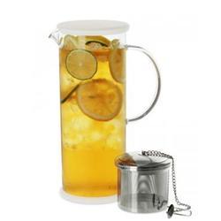 广州玻璃果汁壶,玻璃果汁壶,骏宏五金(优质商家)图片
