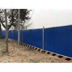 莱芜彩钢板围挡、安平奥驰丝网专业厂家、彩钢板围挡保养图片