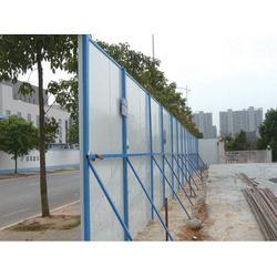 安平奥驰,龙岩路边彩钢围挡,路边彩钢围挡厂家直销图片