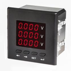 索驰牌三相数显电流表 智能三相电流表 三相交流电流表图片