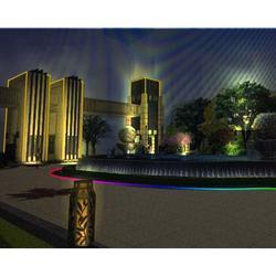 山西照明协会照明工程 太原楼宇照明亮化-照明亮化图片