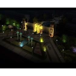 山西亮化公司 仿古建筑照明亮化 大同照明亮化