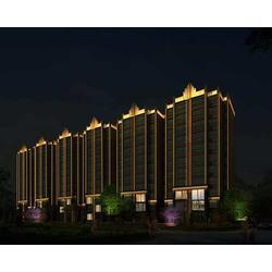楼宇照明亮化设计-山西省照明电器行业协会-照明亮化图片