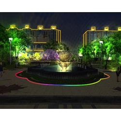 小区楼宇照明亮化-阳泉照明亮化-山西照明协会(查看)图片